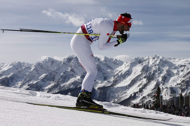 Le fondeur canadien Brian McKeever n'a pas subi la... (Photo Dmitry Lovetsky, archives AP)