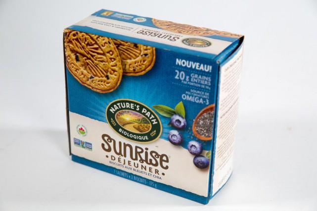 Les biscuits Sunrise de Nature's Path «pourraient faire... (Photo François Roy, La Presse)