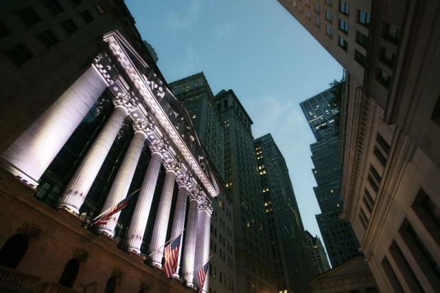 À Toronto comme à New York, les marchés ont fini la journée en hausse, après... (Photo Mark Lennihan, archives AP)