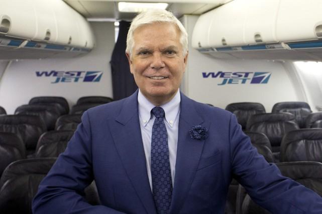 Gregg Saretskyétait PDG de WestJet depuis huit ans.... (Photo Larry MacDougal, archives PC)