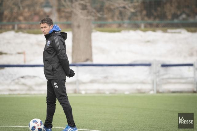 L'entraîneur-chef de l'Impact de Montréal,Rémi Garde.... (Photo Ivanoh Demers, archives La Presse)