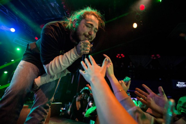 Post Malone... (Photo Barry Brecheisen, Invision for Park City Live via AP)