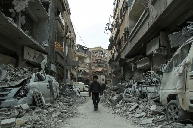 Malgré les appels d'une communauté internationale impuissante face... (PHOTO AFP)