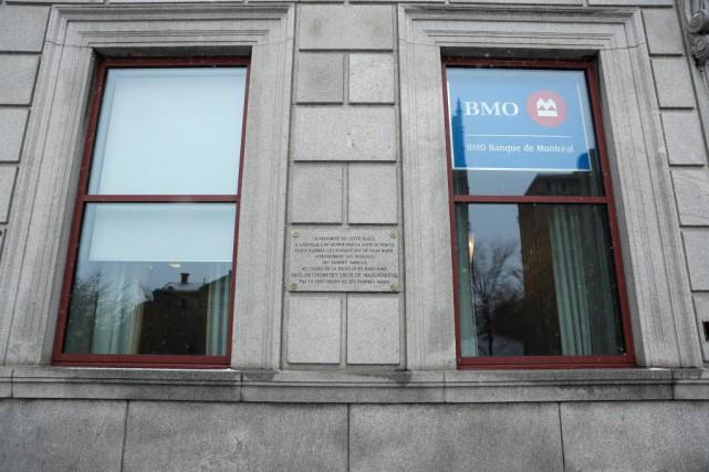 La Banque de Montréal (BMO) fait actuellement des... (PHOTO MARTINCHAMBERLAND, LA PRESSE)