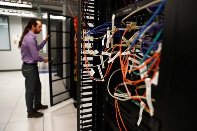 Les installations de Calcul Québec à l'Université de... (Photo Martin Chamberland, La Presse)