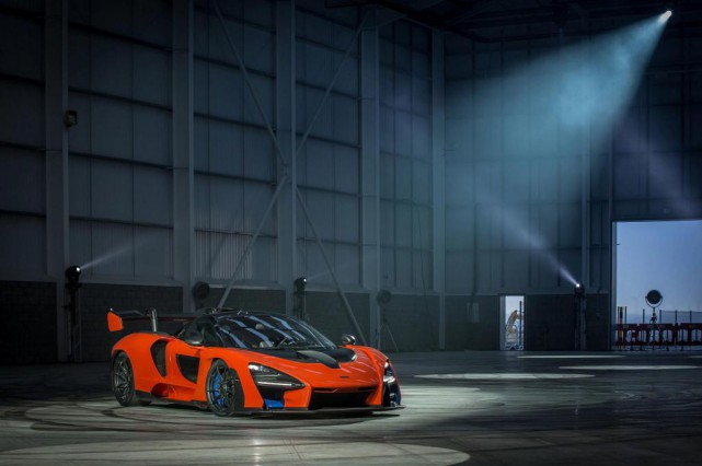 McLaren Senna 2019... (Photo fournie par McLaren)