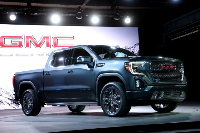 Le GMC Sierra Denali 2019... (PHOTO Rebecca Cook, REUTERS)