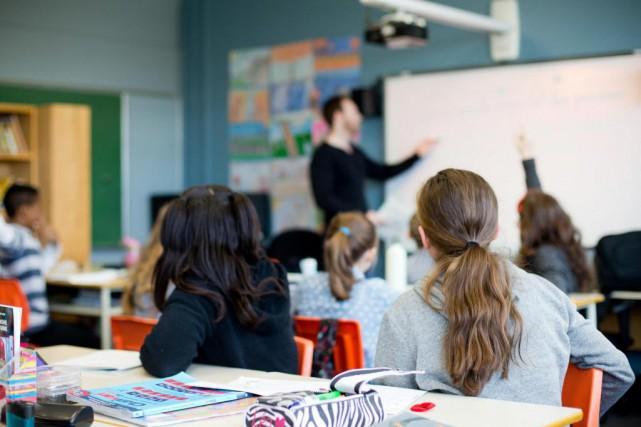À l'instar de nombreuses infirmières, certains enseignants ont... (Photo Sarah Mongeau-Birkett, archives La Presse)