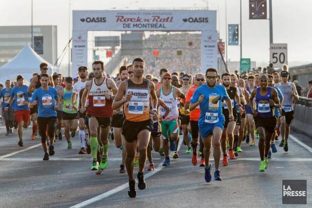 Après avoir appris que le Marathon de Montréal... (Photo Robert Skinner, Archives La Presse)