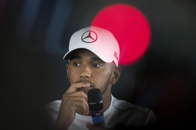 Quadruple champion du monde, LewisHamilton estime que c'est... (PHOTO JUSTIN TALLIS, AGENCE FRANCE-PRESSE)