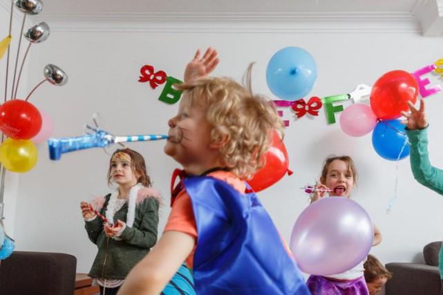 L'organisation d'une fête d'enfants n'est pas toujours une... (PHOTO ULYSSE LEMERISE, COLLABORATION SPÉCIALE)
