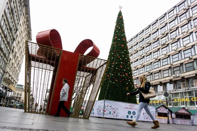 En décembre, la presse avait révélé qu'un sapin... (Photo Andrej Isakovic, archives AFP)