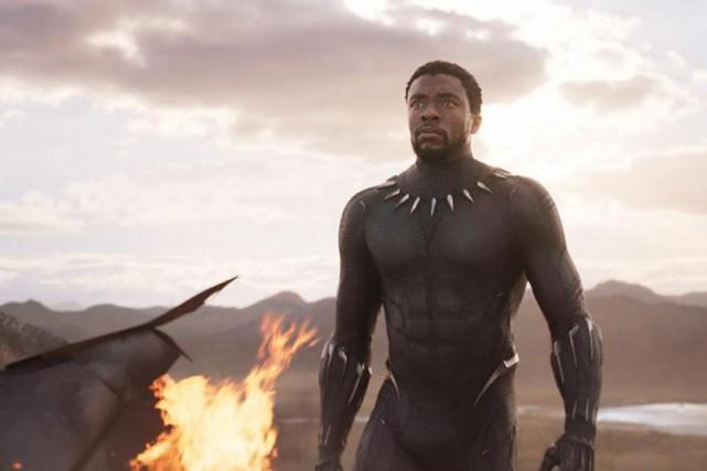 Chadwick Boseman incarne le héros Black Panther dans... (MARVEL STUDIOS)