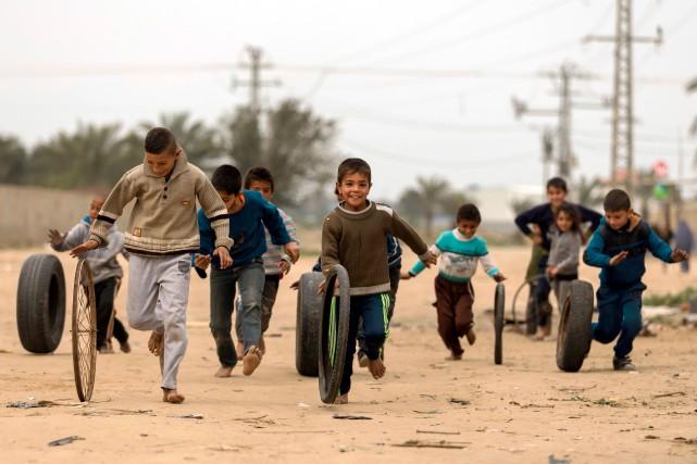 La bande de Gaza est affligée par la... (ARCHIVES AFP)