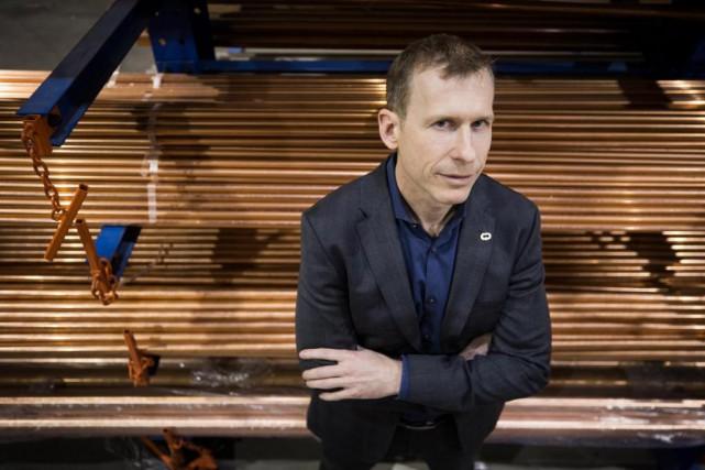 Rapidement après être devenu PDG du Groupe Deschênes,... (Photo Patrick Sanfaçon, La Presse)