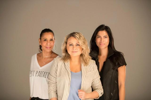 IsabelleRacicot, Mitsou Gélinas et Virginie Coossa font partie... (Photo Ivanoh Demers, La Presse)