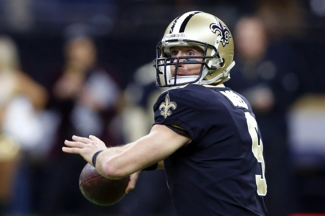 Drew Brees, qui a eu 39 ans en janvier,... (Photo Butch Dill, AP)