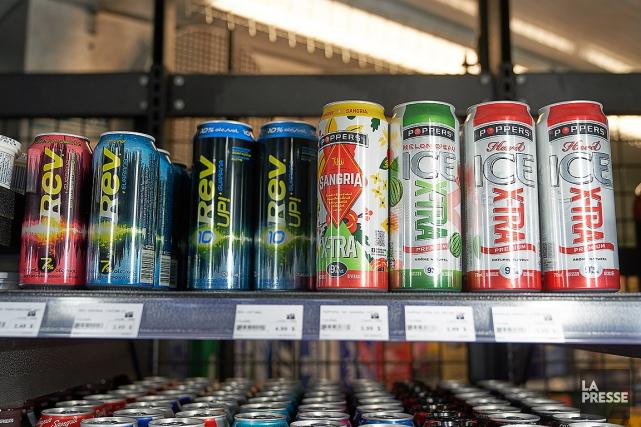 Une grande variété de boissons sont concernées, dont... (André Pichette, archives La Presse)