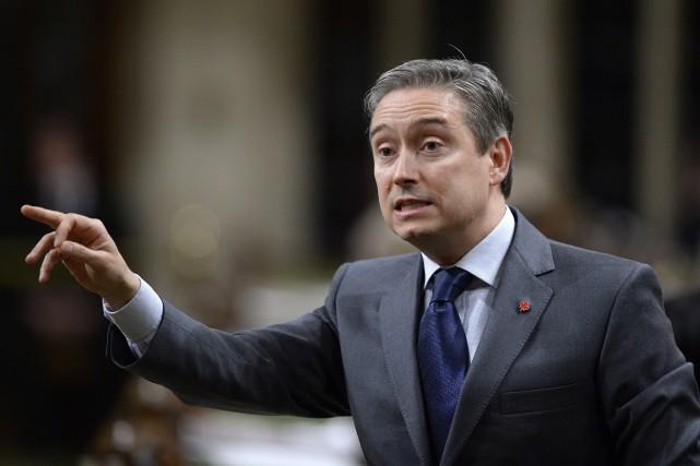 Selon le ministre fédéral du Commerce international, François-Philippe... (THE CANADIAN PRESS)