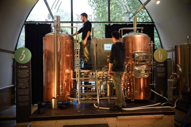 Après 36 ans de recul, la consommation de bière en France a depuis quelques... (Photo archives AFP)