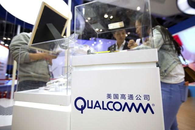 Même si Broadcom est basé à Singapour, c'est... (Photo Mark Schiefelbein, AP)