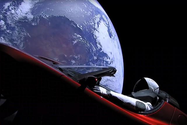 Quand la NASA procède à un lancement, elle... (photo AFP)