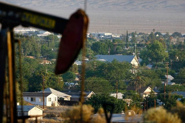 Le baril de light sweet crude (WTI), référence... (Photo archives AFP)