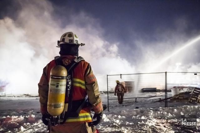 LeService de sécurité incendie de Montréallaisse entendre que... (PHOTO EDOUARD PLANTE-FRECHETTE, La Presse)