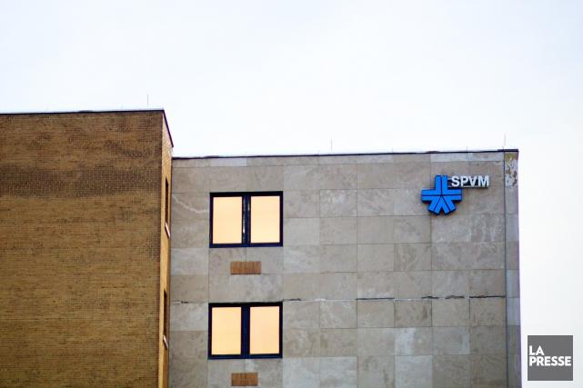 L'Escouade de protection de l'intégrité municipale du SPVM... (PHOTO SARAH MONGEAU-BIRKETT, LA PRESSE)