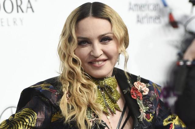 Madonna... (PHOTO ARCHIVES AP)