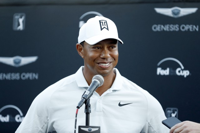 Tiger Woods... (Photo Ryan Kang, AP)