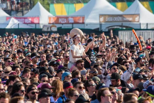 Le festival Osheaga aura lieu du 3au5août au... (Photo UlysseLemerise, collaboration spéciale, archives La Presse)
