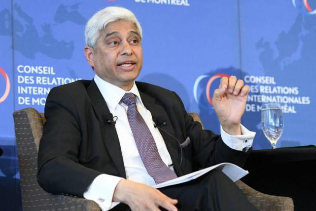 Le haut-commissaire de l'Inde au Canada, Vikas Swarup... (Photo fournie parSylvie-Ann Paré)