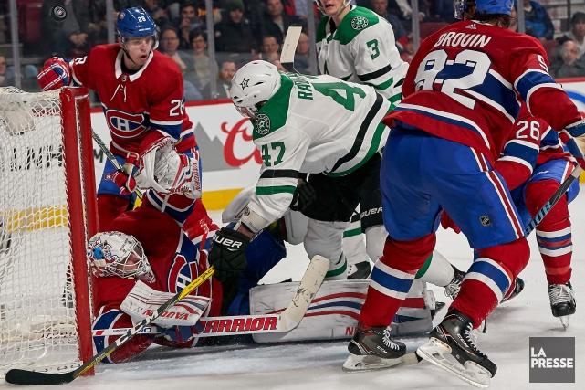 Les joueurs du Canadien ont joué avec l'énergie... (Photo André Pichette, La Presse)