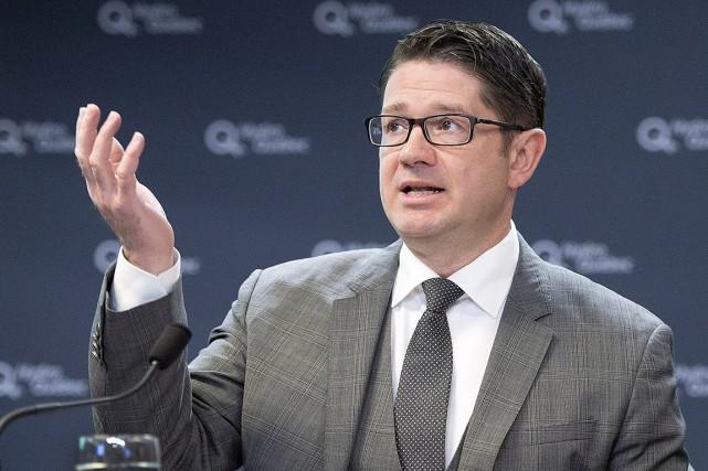 Le président-directeur général d'Hydro-Québec, Éric Martel.... (PHOTO RYAN REMIORZ, ARCHIVES LA PRESSE CANADIENNE)