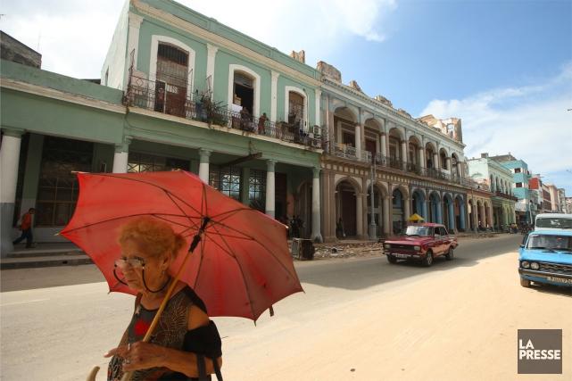 La Havane... (Photo Martin Chamberland, Archives La Presse)