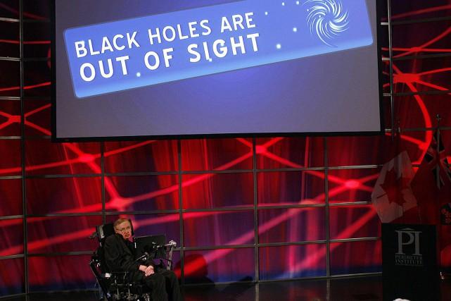 M.Hawking a été nommé titulaire de l'une des... (Dave Chidley, archives PC)