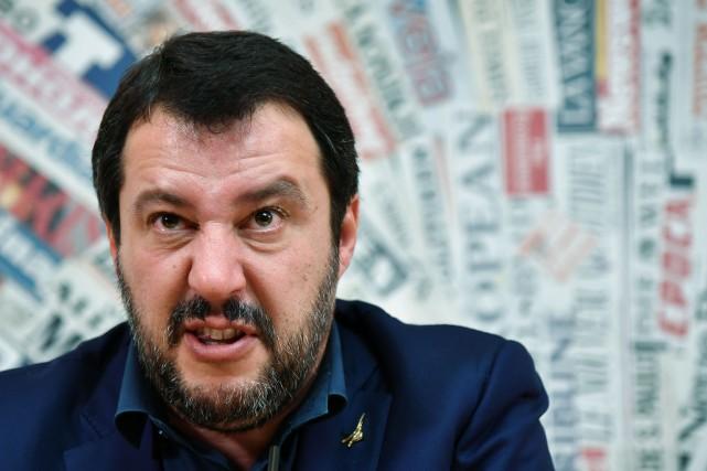 Matteo Salvini a souligné qu'il n'était pas «disponible... (Photo Tiziana Fabi, Agence France-Presse)
