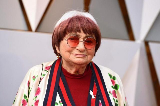 Agnes Varda... (Photo archives AP)