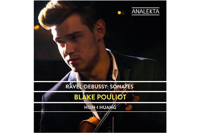 Ravel-Debussy:Sonates, de Blake Pouliot et Hsin-I Huang... (Image fournie par Analekta)