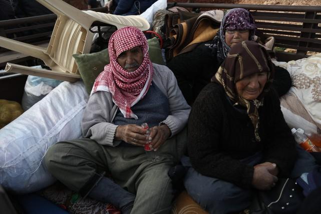 La population paie le plus lourd tribut dans... (Photo Nazeer al-Khatib, Agence France Presse)