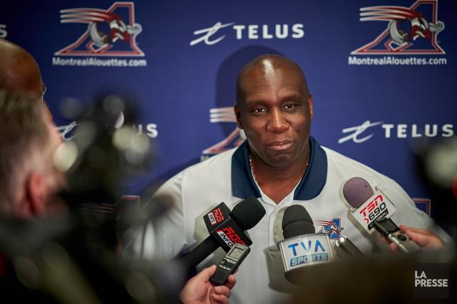 Le directeur général des Alouettes, Kavis Reed.... (Photo André Pichette, La Presse)