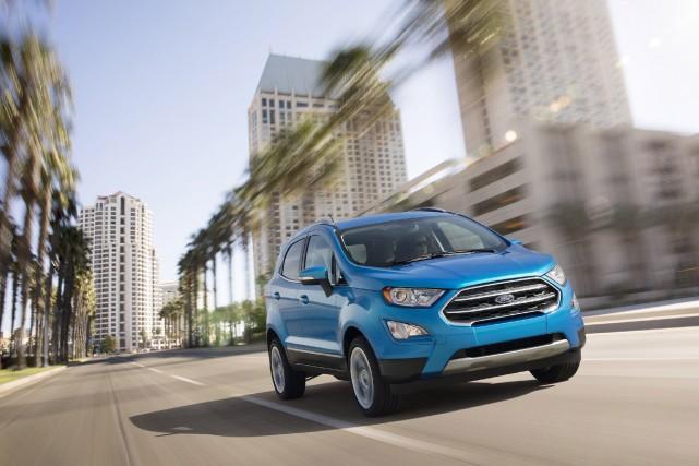 Nouveautés printemps-été 2018 - Ce Ford EcoSport, comme... (Photos Ford)