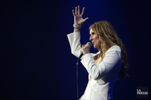 Céline Dion... (PHOTO CHARLES LABERGE, ARCHIVES LA PRESSE)