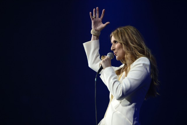 Céline Dion... (Photo Charles Laberge, Collaboration Spéciale)