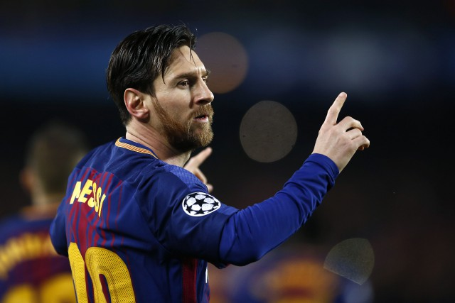 Lionel Messi est devenu le deuxième joueur de... (PHOTO AP)