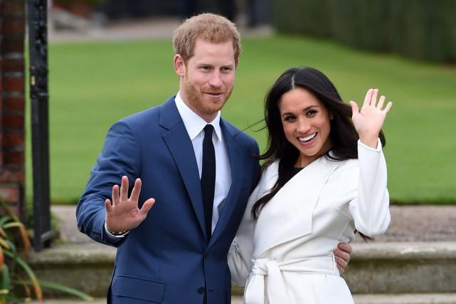 Élisabeth II consent au mariage de Harry et Meghan