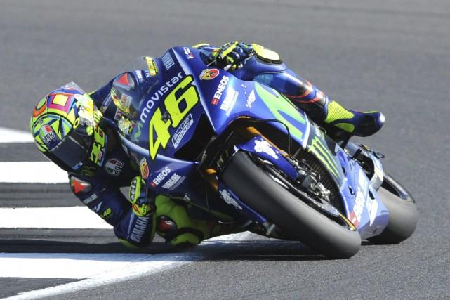L'italien Valentino Rossi --neuf fois champion du monde--... (photo AP)