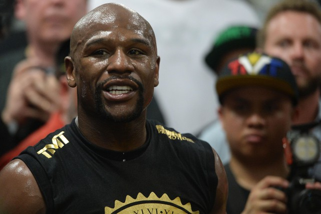 Floyd Mayweather... (Photo Joe Camporeale, archives USA TODAY Sports)