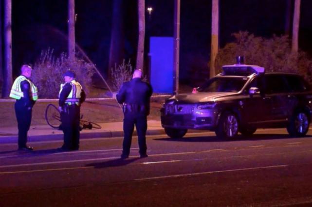 Il s'agit du premier décès d'un piéton heurté... (Photo : station ABC 15, Phoenix)